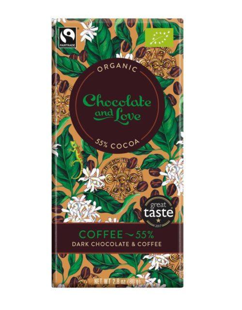 Chocolate and Love - Coffee 55%  80gr
