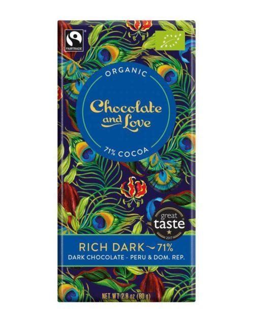 Chocolate and Love - Rich dark 71% 80gr