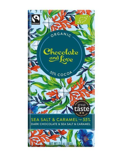 Chocolate and Love - Sea salt 55% 80gr
