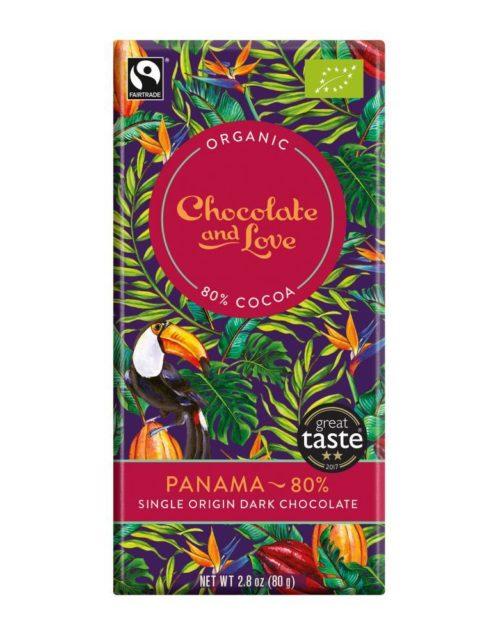 Chocolate and Love - Panama 80% 80gr