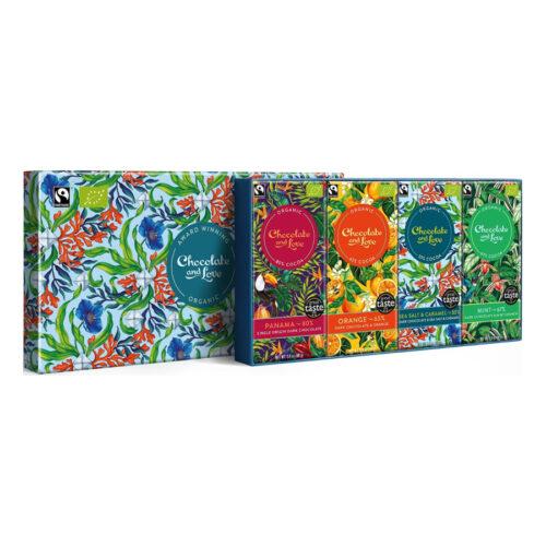 Chocolade and love - Giftbox panama 4 repen