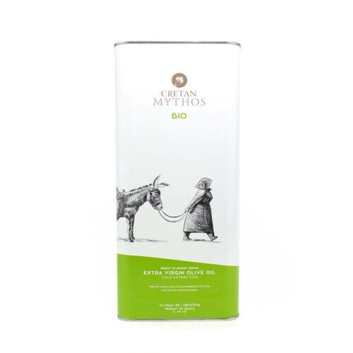 Cretan Mythos - Biologische extra vergine olijfolie 5l