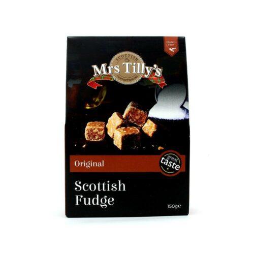 Mrs Tilly's - Vanilla fudge giftbox 150gr