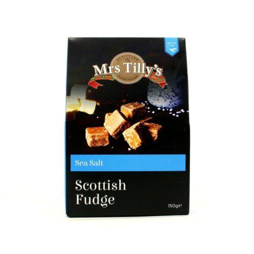 Mrs Tilly's - Sea salt fudge giftbox 150gr