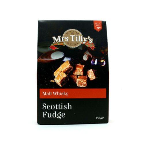 Mrs Tilly's - Malt whisky fudge giftbox 150gr