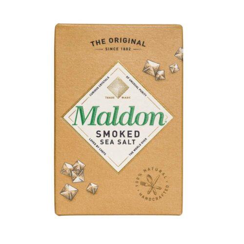 Maldon - Sea salt flakes smoked 125gr