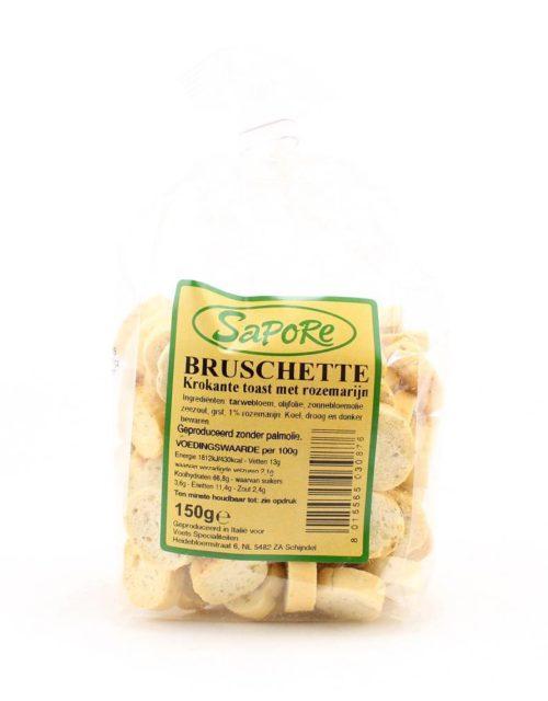 Sapore - Bruschette rozemarijn 150gr