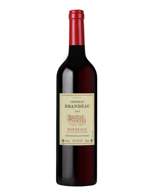 Vignobles Hermouet - Château brandeau bordeaux D.O.C. 750 ml