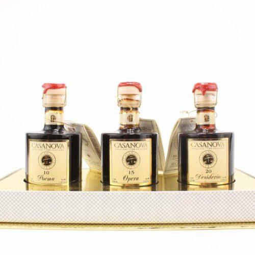 Casanova - Giftbox balsamico collectie 3 flesjes 100ml