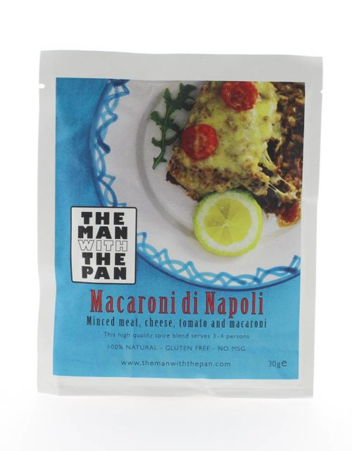 The Man with the Pan - Macaroni di Napoli 30gr