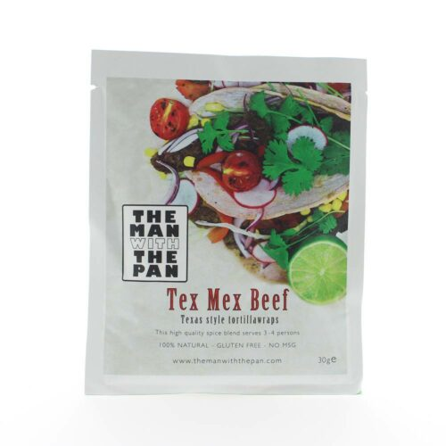 The Man with the Pan - Tex mex beef 30gr