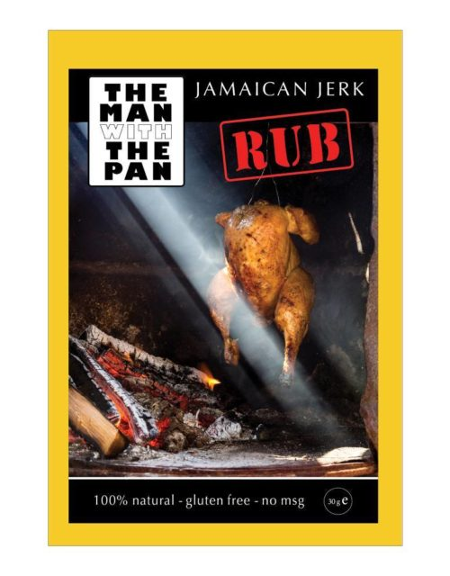 The Man with the Pan - jamaican jerk rub 30gr