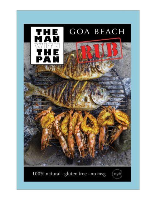 The Man with the Pan - Goa beach rub 30gr