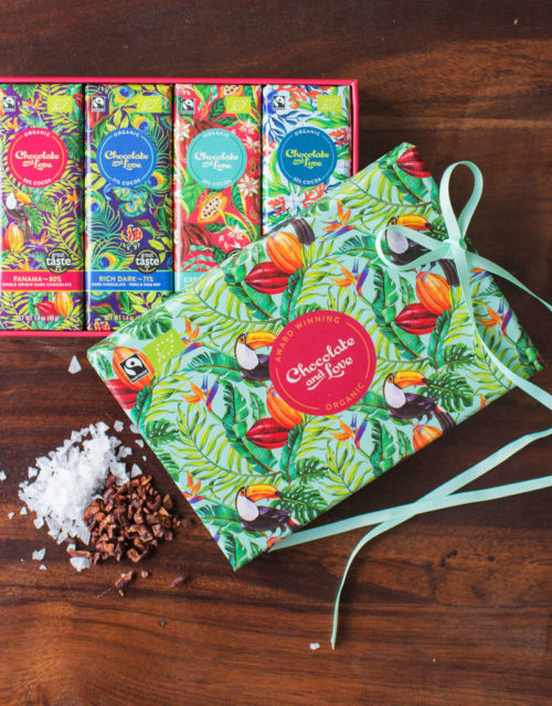 chocolate and love giftbox Panama repen
