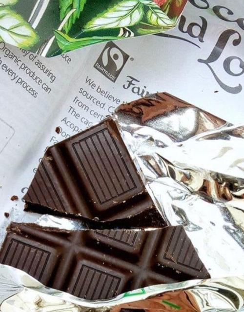 chocolate and love pepermunt reep