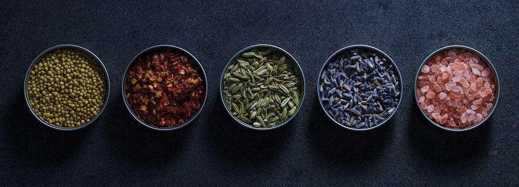 kruiden en zout voor de lekkerste gerechten