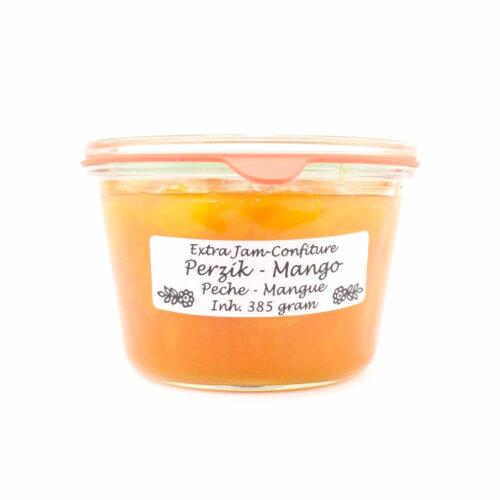 Theo van Woerkom - Confiture perzik en mango 385gr