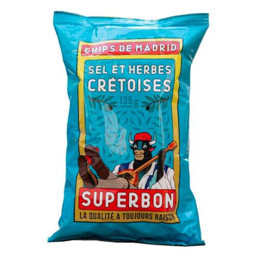 superbon Kretenzische kruiden chips