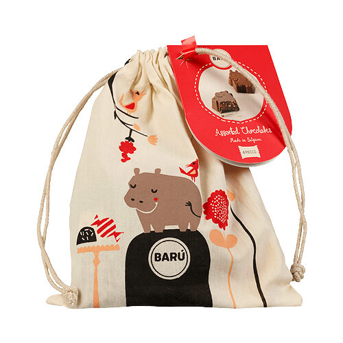 baru-chocolate-hippos-jute-zakje