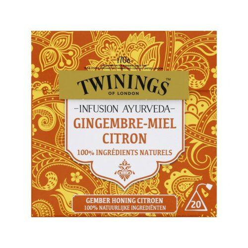 6104 twinings gember honing citroen thee 20 zakjes