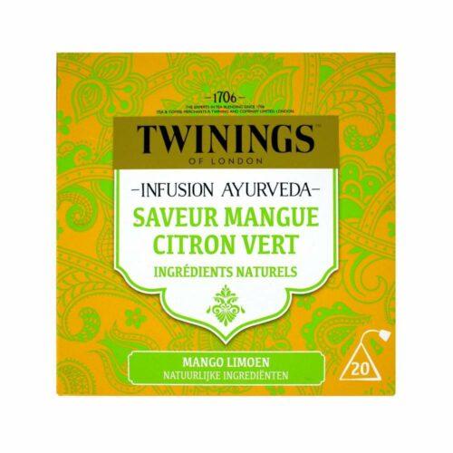 Twinings - ayurveda mango limoen
