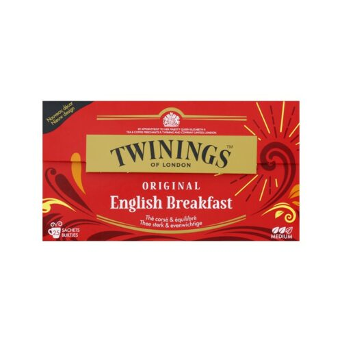 twinings english breakfast 25 zakjes in een doosje