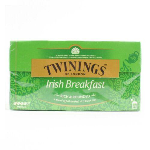 6125 twinings iris breakfast 25 thee zakjes in een doosje