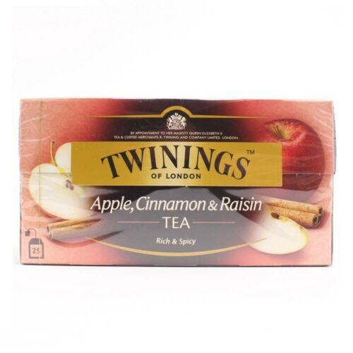 6132 twinings appel kaneel en rozijnen thee 25 zakjes in een doosje