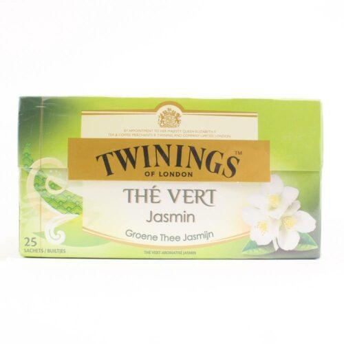 6140 twinings green jasmine thee 25 zakjes in een doosje