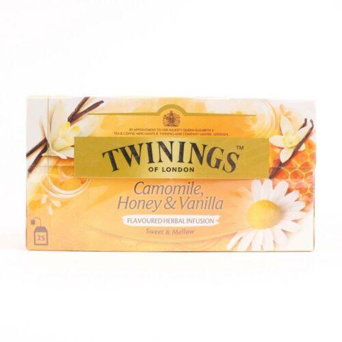 twinings camille honing en vanille thee 25 zakjes in een doosje