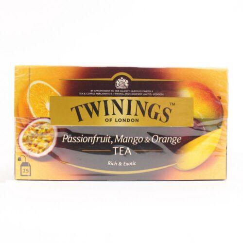 twinings passievrucht mango en sinaasappel