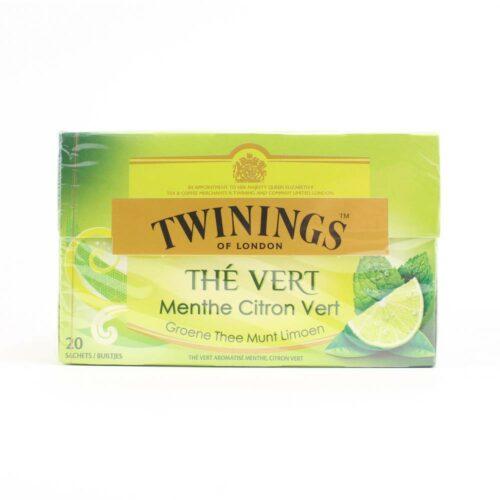 6232 Twinings - green mint lemon