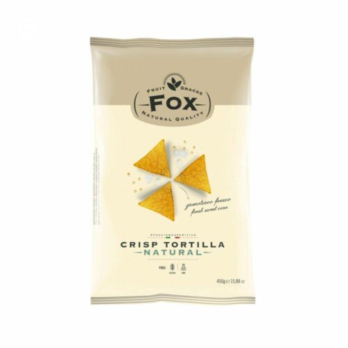 Fox Italia - tortilla chips naturel 450gr