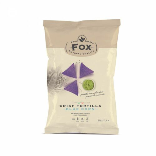 Fox italia - tortilla chips barbecue 450gr