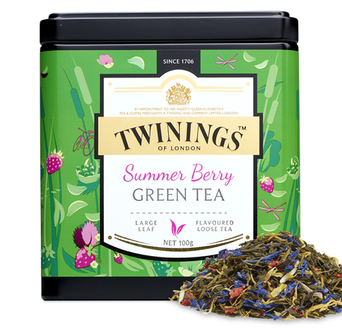 Twinings - berry green tea 100gr