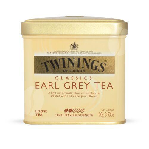 Twinings earl grey 200gr losse thee
