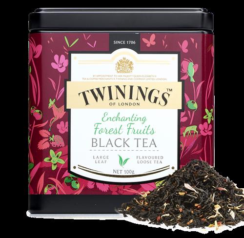 Twinings - forest fruits black tea 100gr