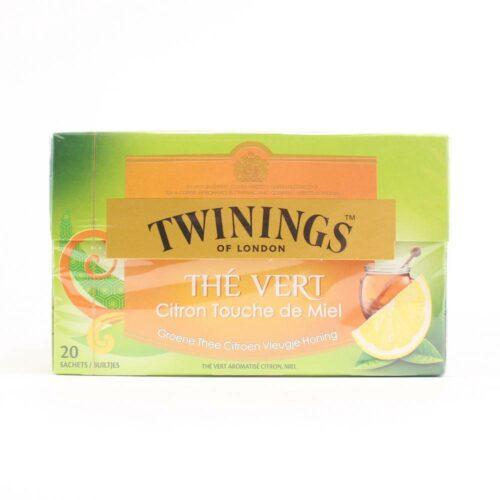 Twinings - green lemon honey