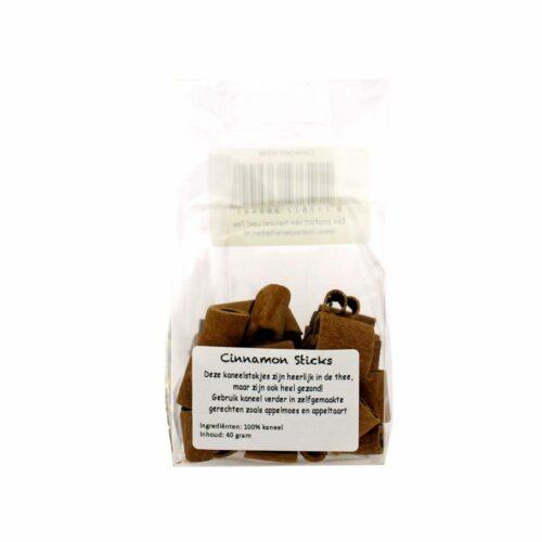 natural leaf tea kaneelstokjes in zakje
