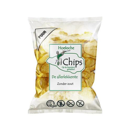 Hoeksche - Chips zoutloos 150gr