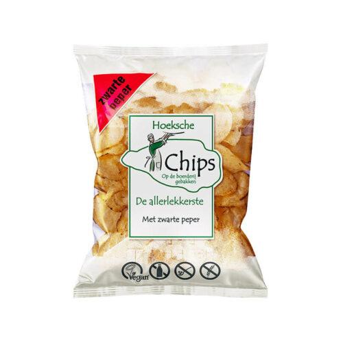 Hoeksche - Chips met zwarte peper 150gr