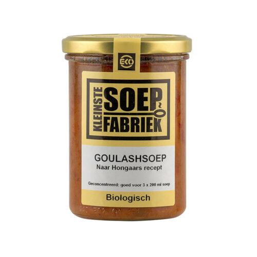 Kleinste soepfabriek Goulashsoep