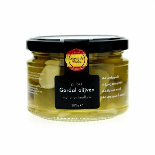 Serra de rodes - gordal olijven ui en knoflook 280gr