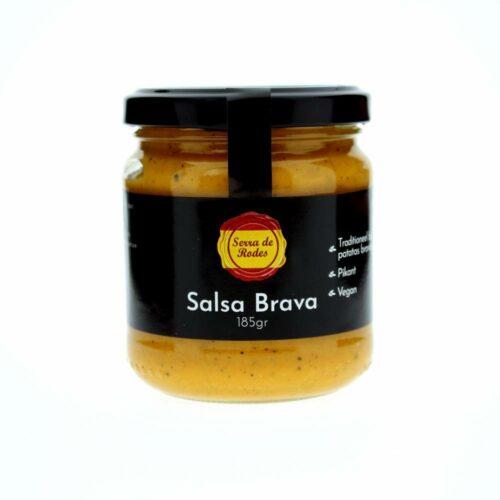 Serra de rodes - salsa brava vegan 185gr