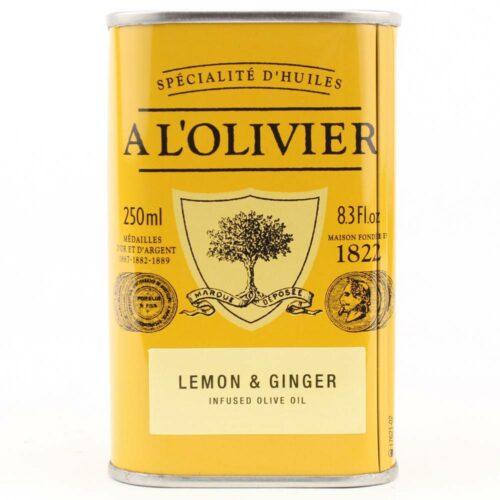 A l'Olivier - olijfolie extra vergine citroen & gember 250 ml
