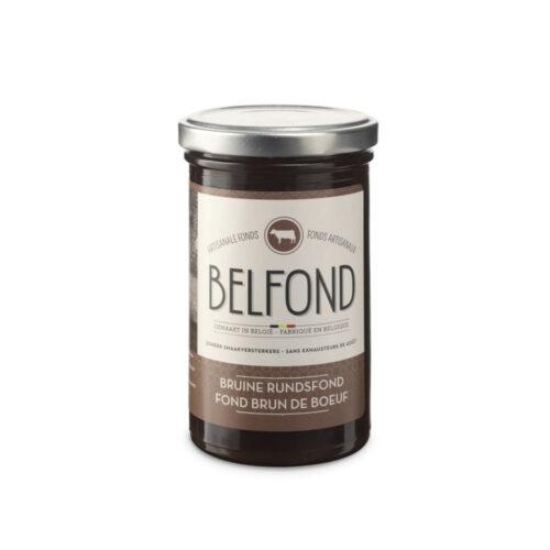 Belfond - bruine rundsfond 240ml