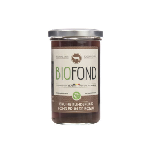 Belfond - bruine rundsfond biologisch 240ml