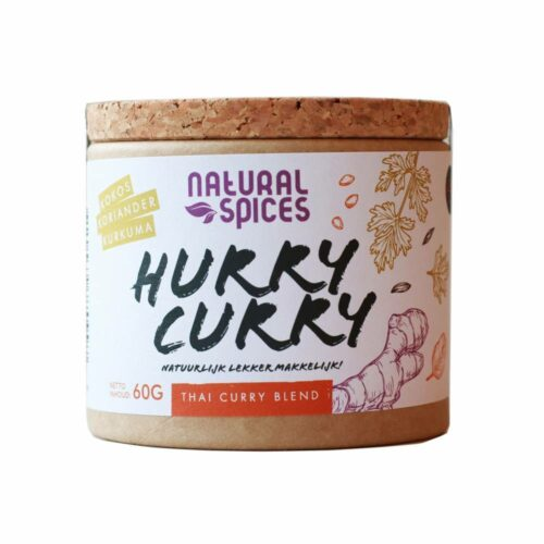 Natural Spices – hurry curry 60 gram