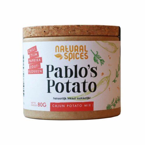Natural Spices – pablo's potato 80 gram