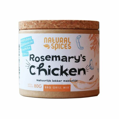 Natural Spices – rosemary's chicken 80 gram